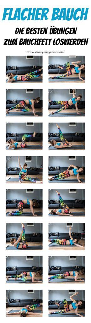 Wie bekomme ich einen flachen Bauch? 16 Tipps zum Bauchfett loswerden #corepilates
