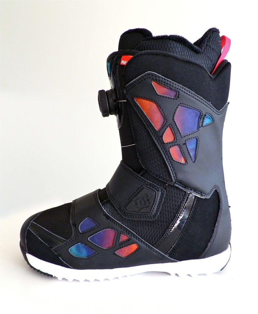 dc snowboard boots womens mora size 9 recco 28 2013