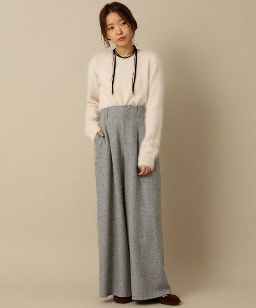 Another Edition,アンゴラクルーネックプルオーバー/ AEBFC ANG C/N PO Find looks using this item.