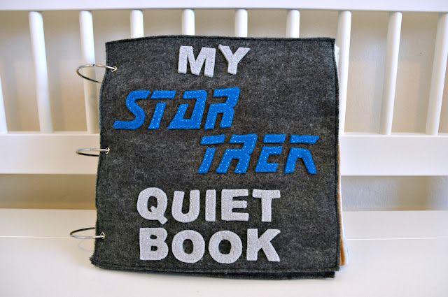 julies blog: My Star Trek Quiet Book. awesome!