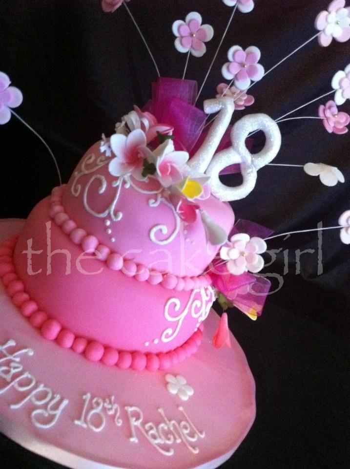 Happy  Th Birthday  Amazing Cakes Pinterest Birthdays - Happy birthday 18 cake