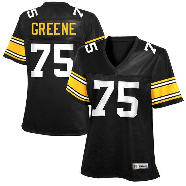 2d386d91a Joe Greene Pittsburgh Steelers Women's Retired Player Jersey - Black -  $109.99