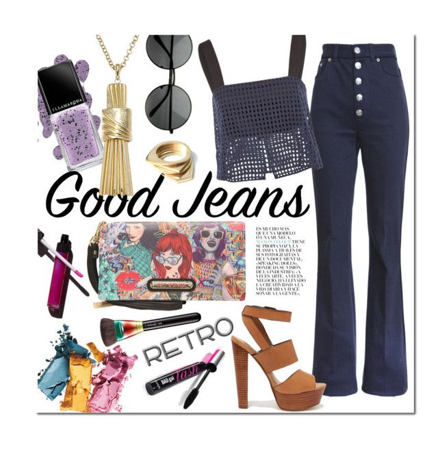 """""""Retro World"""" by clovers-mind ❤ liked on Polyvore"""