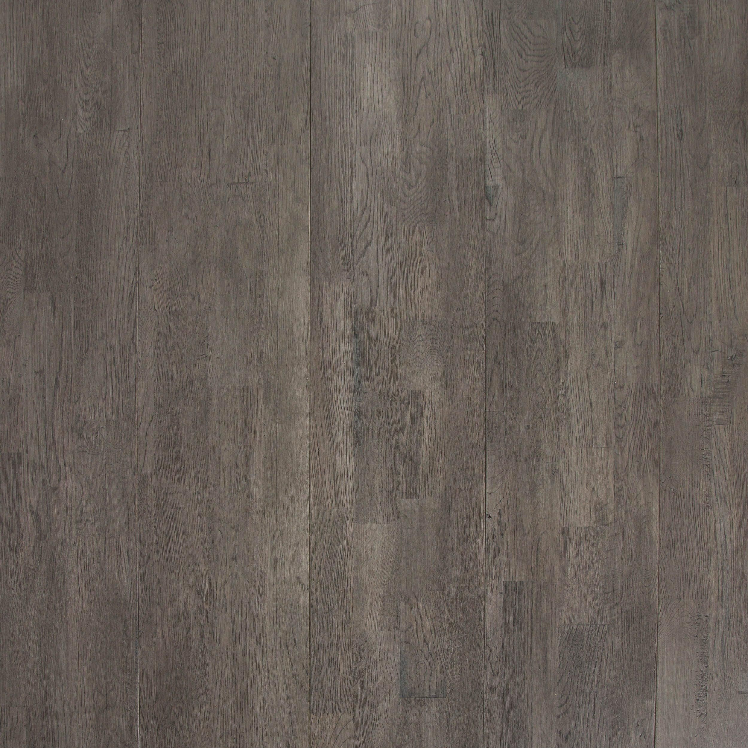 Light Gray Oak Wire Brushed Solid Hardwood In 2019 Vinyl