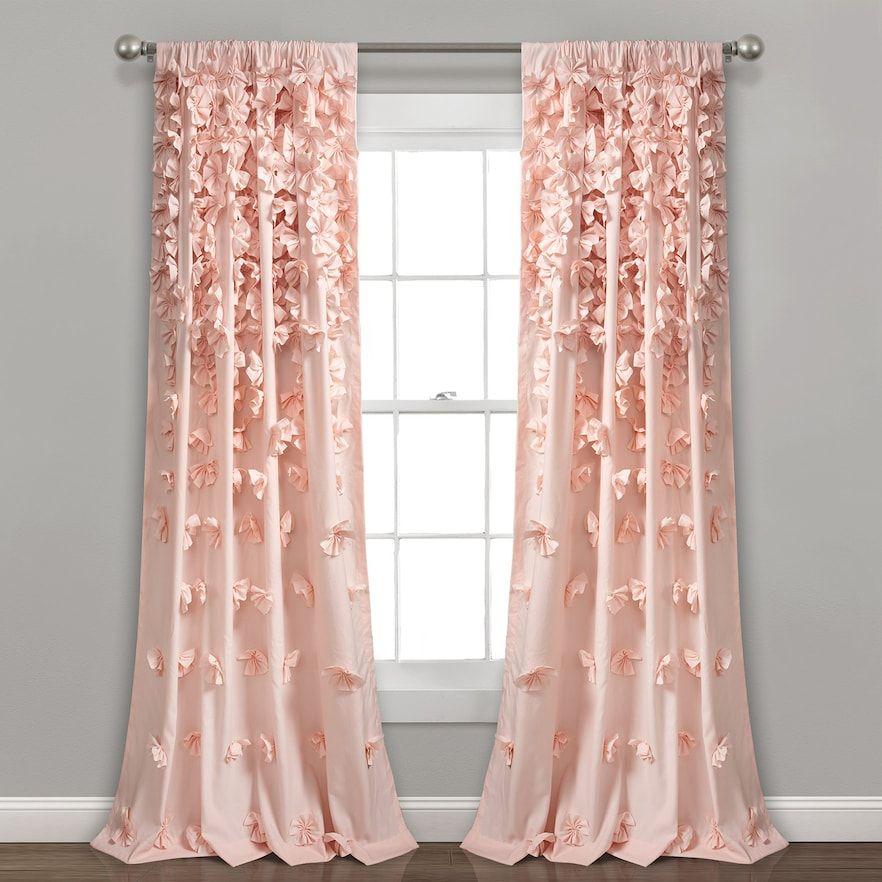 Lush Decor Riley Window Curtain Panel Kohls Panel Curtains