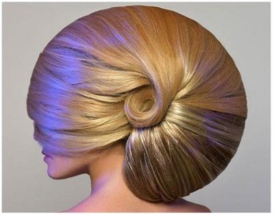 Peinados raros bonitos para mujeres