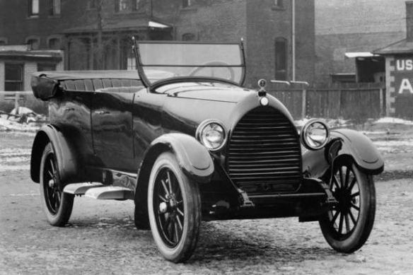 1922 Detroit Air-Cooled Phaeton
