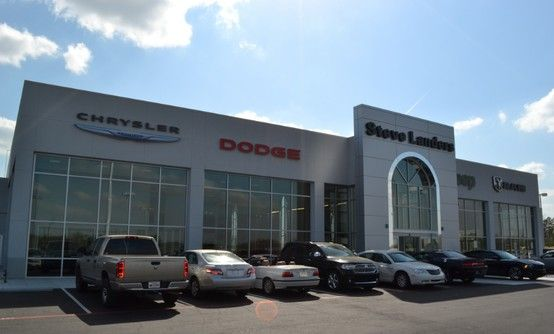 Front Of The New Building | Steve Landers Chrysler Dodge Jeep Ram | 401  Colonel Glenn