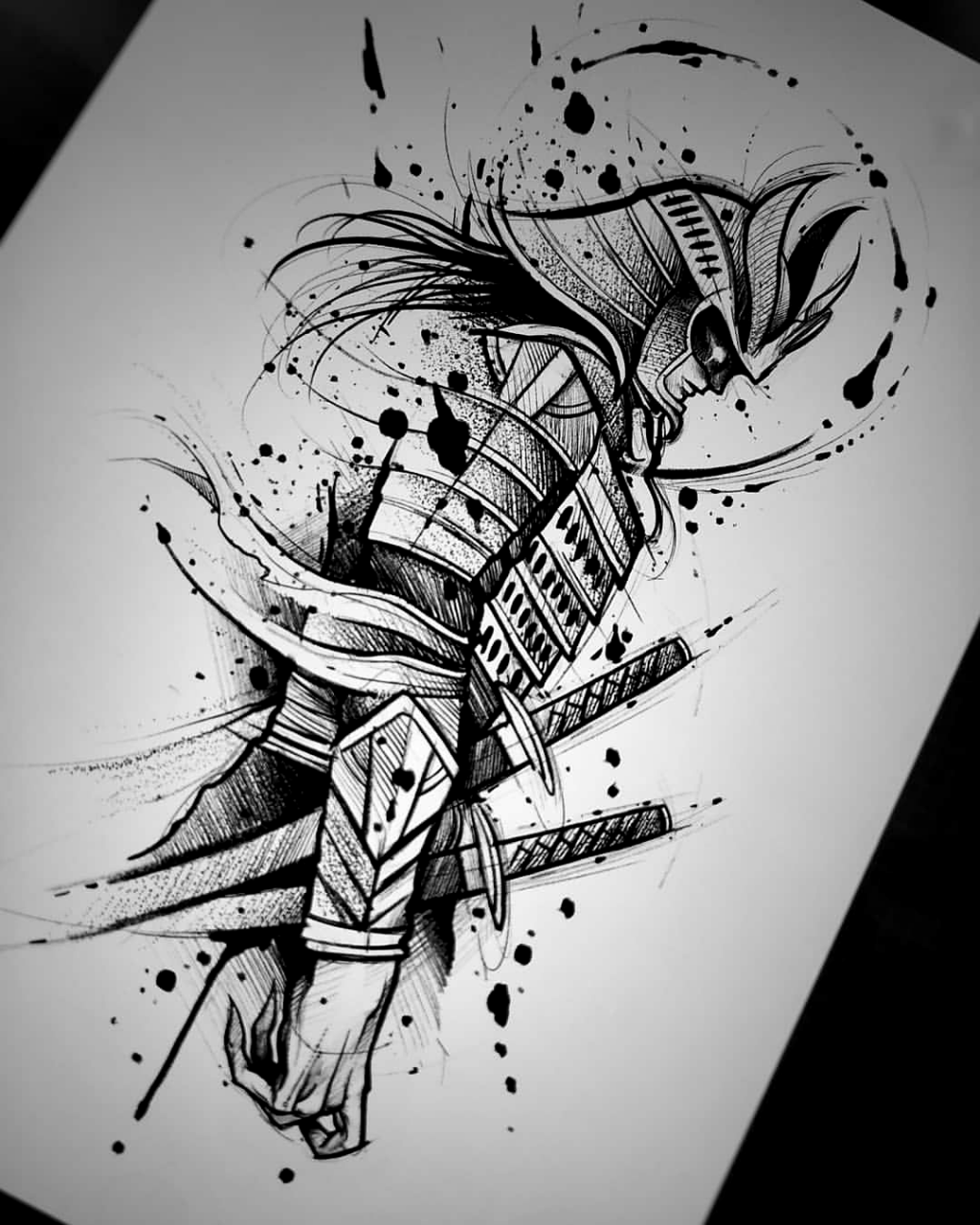 Epingle Par Aleksandara Sur Tatuaz En 2020 Tatouage Samurai Tatouage Samourai Tatouage