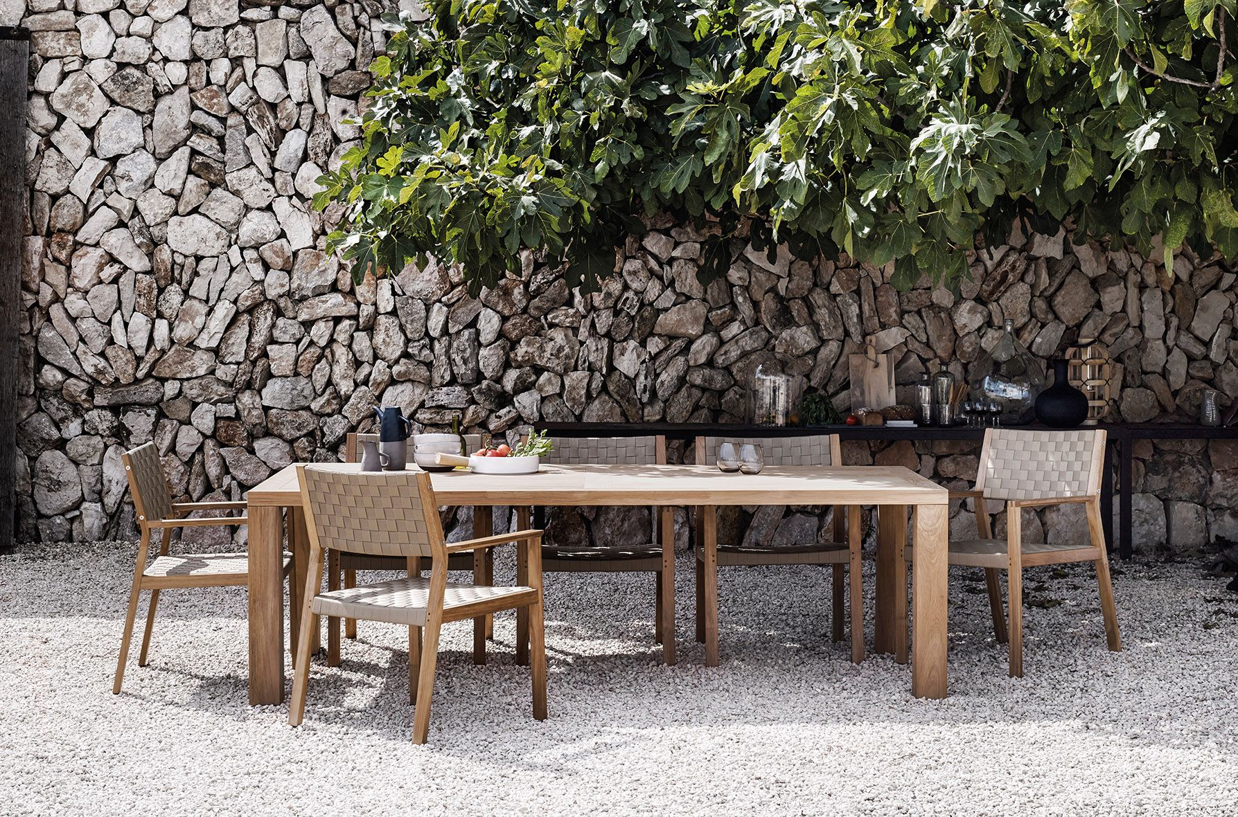 Gloster square & maze dining set 10 furniture brands article | Maze ...