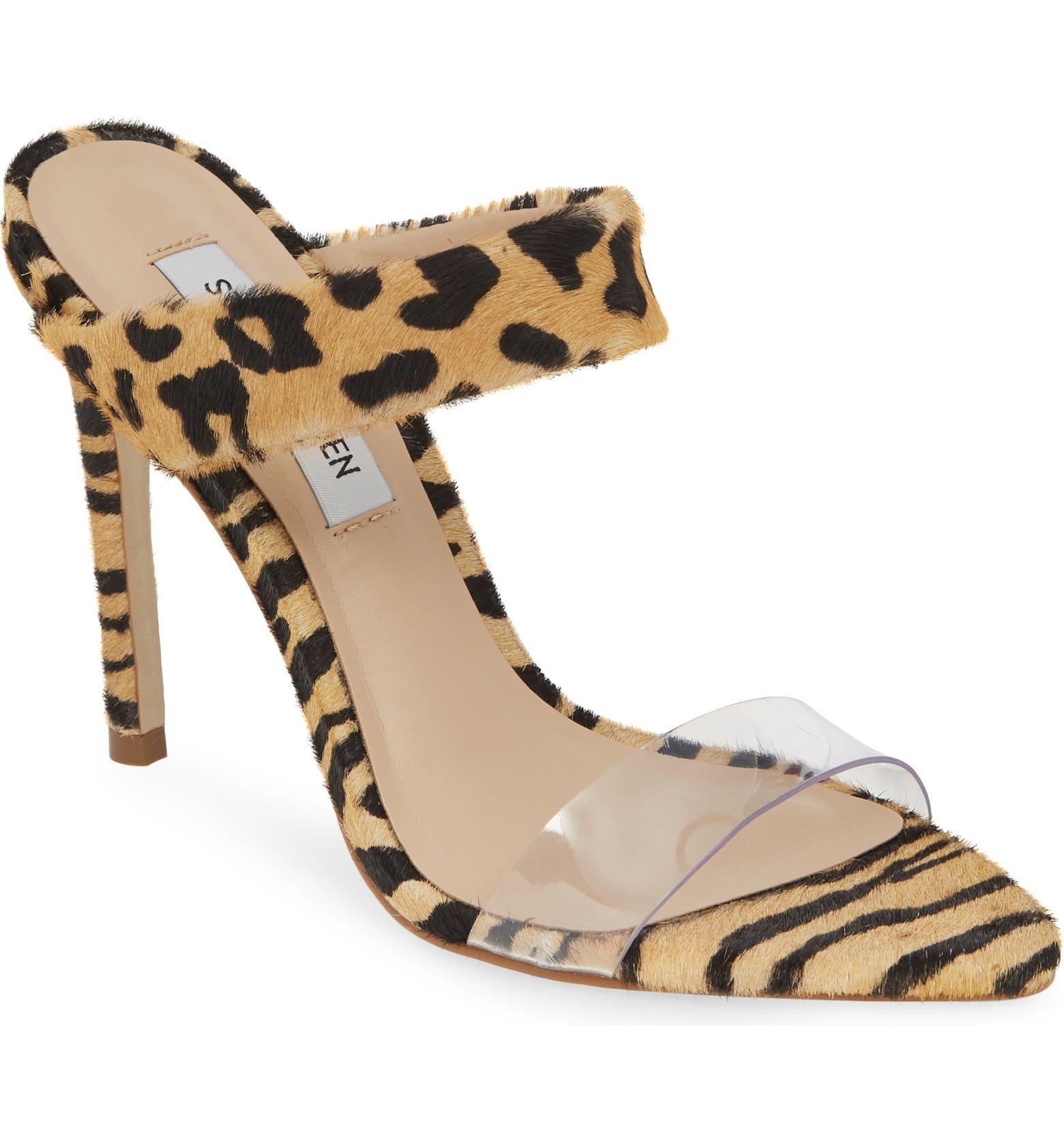 c4e51873e28 STEVE MADDEN Amaya Genuine Calf Hair Slide Sandal, Main, color ...