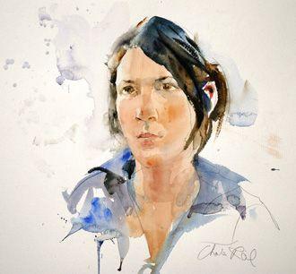 Artist Painting Jini James