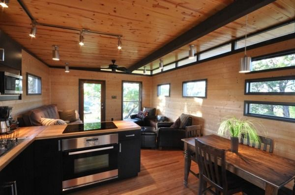 504 Sq. Ft. Modern Cabin Great For Your Live/Work Lifestyle