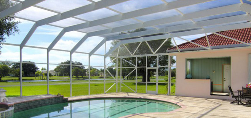 Guardian Hurricane Screen enclosure will Preserve your