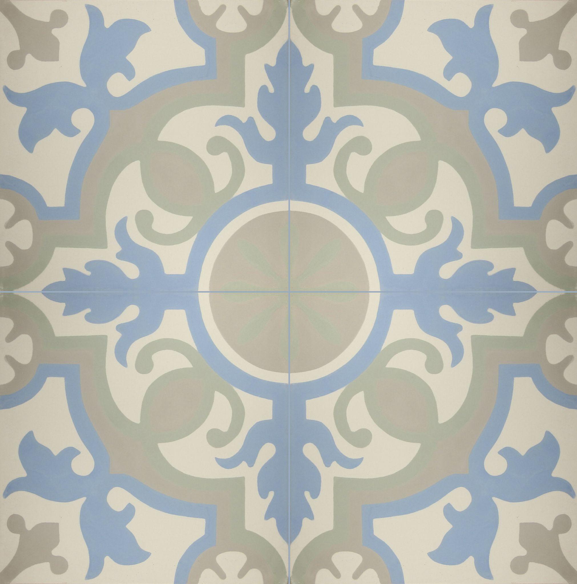 Un mosaico y piso de pasta esplendido. Arte bajo tus pies ...