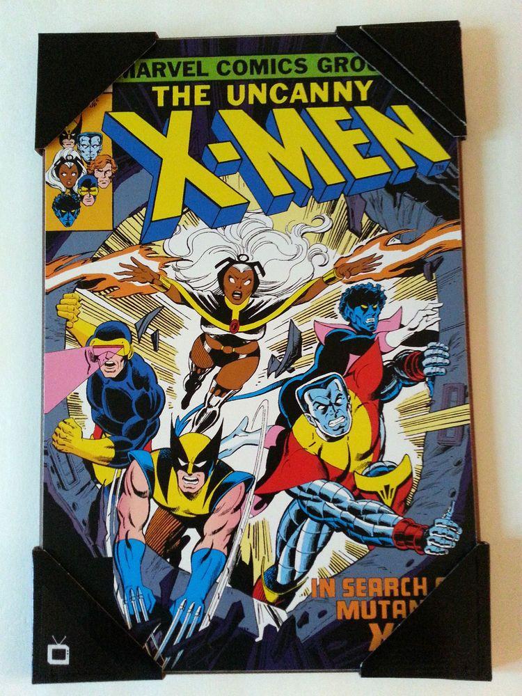 Uncanny X Men 126 Wooden Wall Art Marvel Comics 19 X13 Plaque