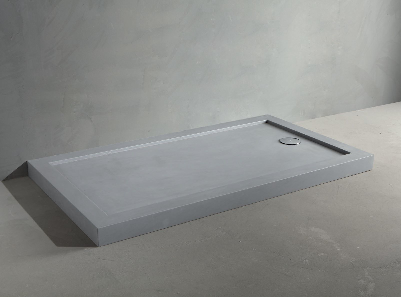 Rectangular Cement Shower Tray Line Concrete By Rifra With Images