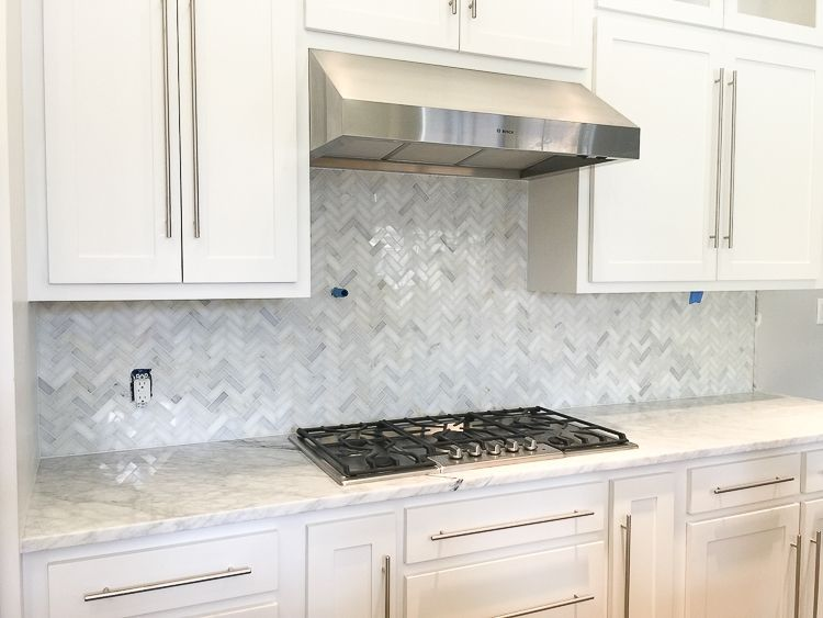 White Herringbone Backsplash Gallery Backsplash Ideas Interesting