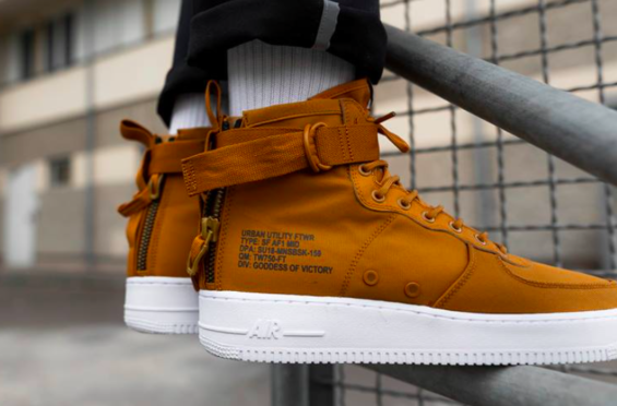 The Nike SF AF1 Mid Desert Ochre Is Now Available | Nike sf