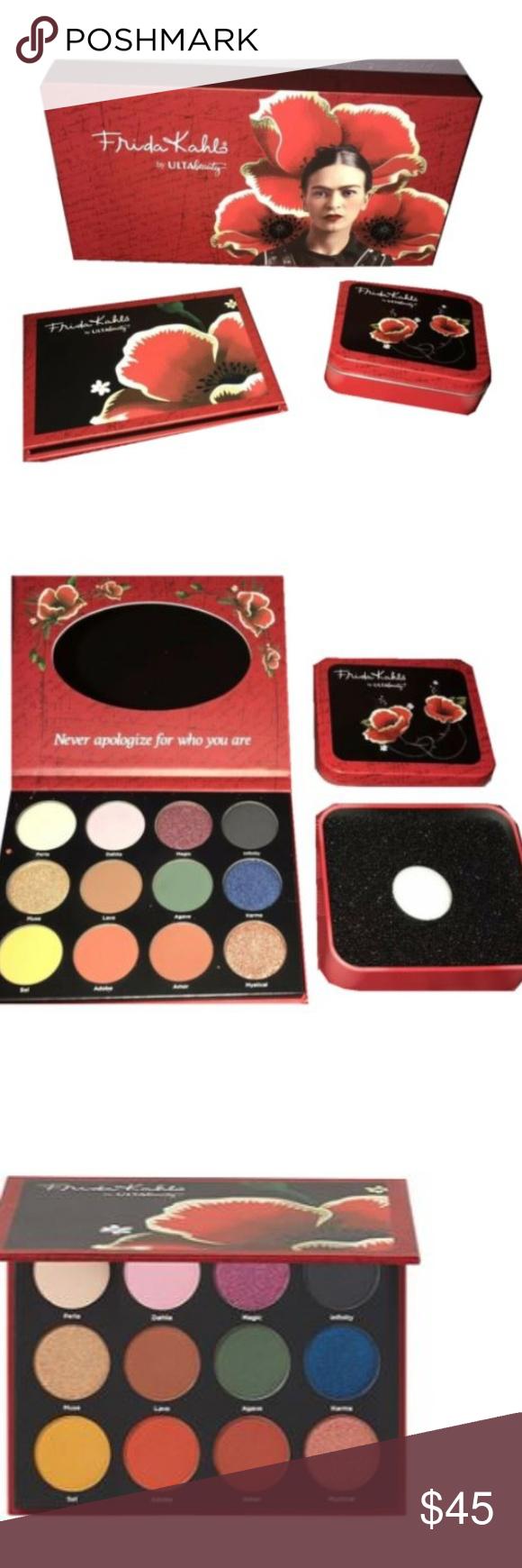 Frida Kahlo EyeShadow Palette & Switching Pan Eyeshadow