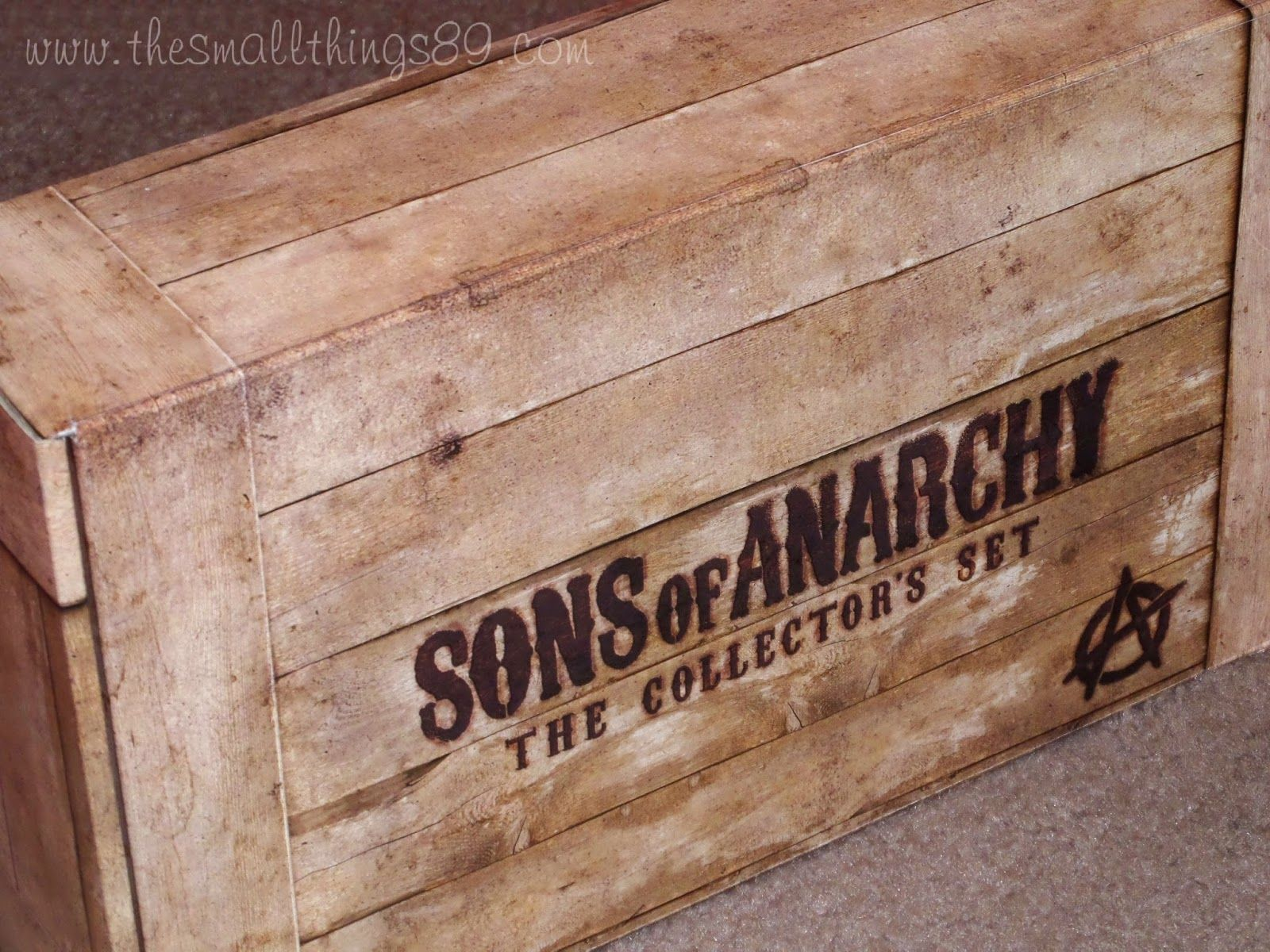 Sons Of Anarchy The Collectors Set On Blu Ray Sons Of Anarchy Anarchy Blu