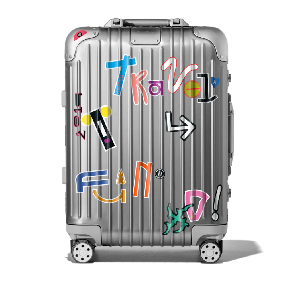 Rimowa Stickers Set The Sticker Book From A Z Rimowa Suit Cases Travel Travel Luggage Set