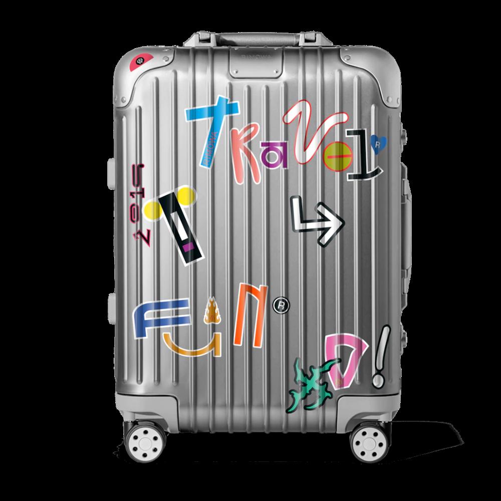 Rimowa Stickers Set The Sticker Book From A Z Rimowa Travel Luggage Set Sticker Book