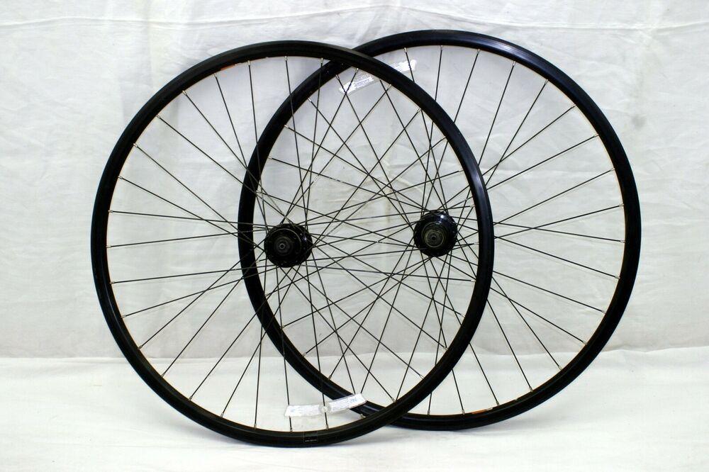 "Alloy Platform Bike Pedals 9//16/"" VPE-506 Touring Gravel BMX MTB Black US Charity"