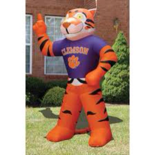 What To Expect On Your Visit Day: Expect To See This 7 Ft Inflatable Clemson Tiger In Our