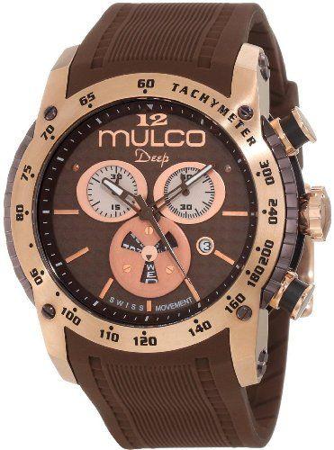 Mulco Unisex MW1-29878-033 Deep Scale Swiss Movement Watch - List price: $465.00 Price: $314.29 Saving: $150.71 (32%)