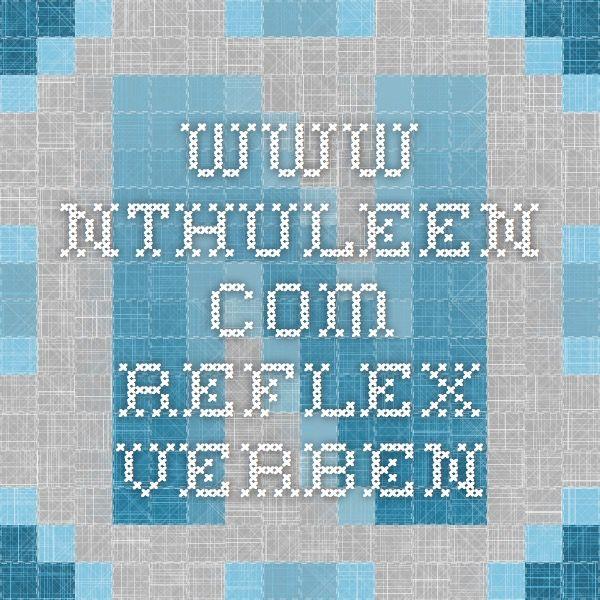 www.nthuleen.com - Reflex verben   Stuff   Pinterest