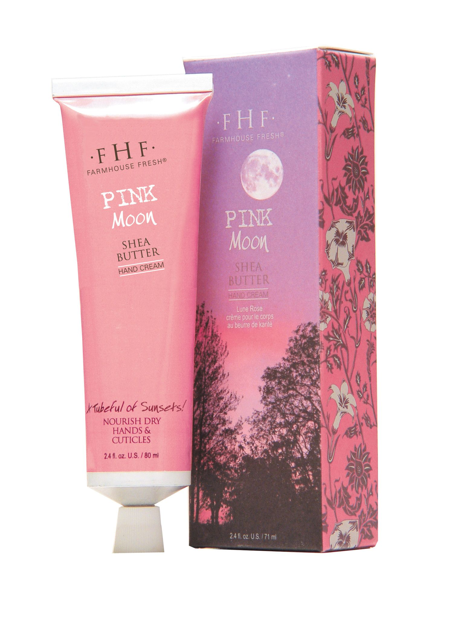 Pink Moon Shea Butter Lotion from FarmHouse Fresh Goods