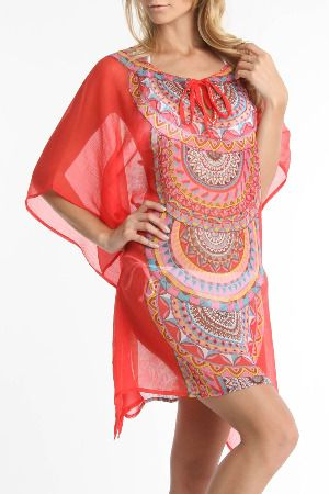 sheer tunic/cover up