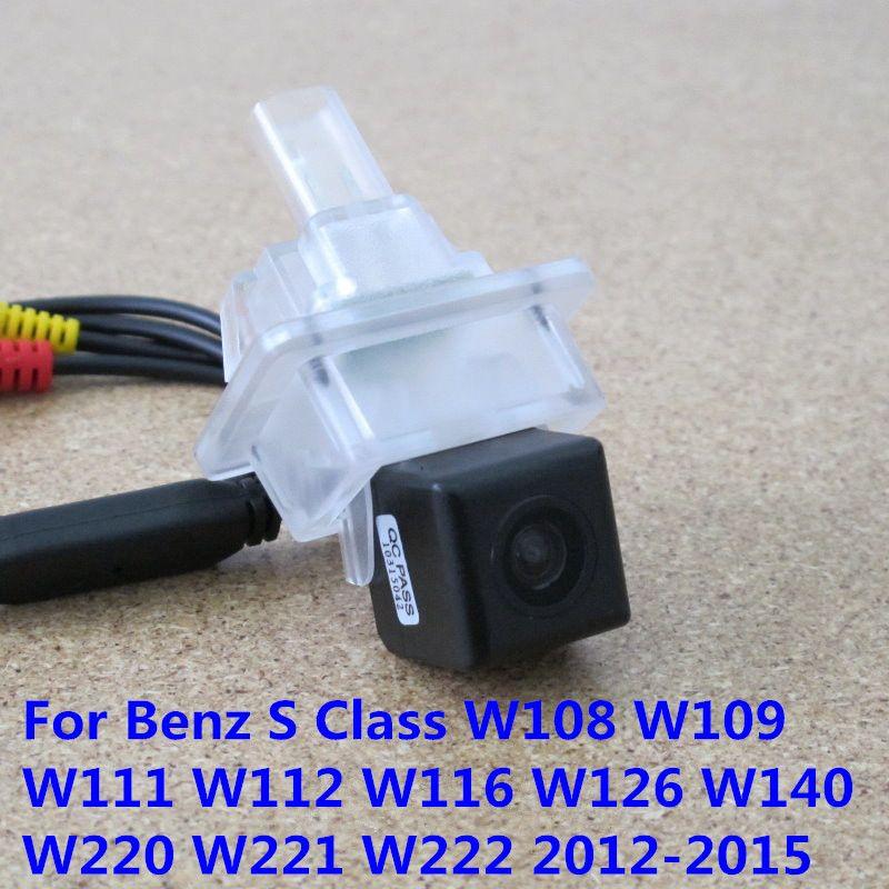 Ccd Night Vision Car Rear View Reverse Backup Camera For Mercedes Benz S Class W108 W109 W111 W112 W116 W126 W140 Car Electronics Parking Camera Mercedes Benz