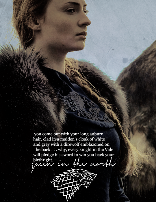 Pin by Cece B. on Game of Thrones Sansa stark quotes