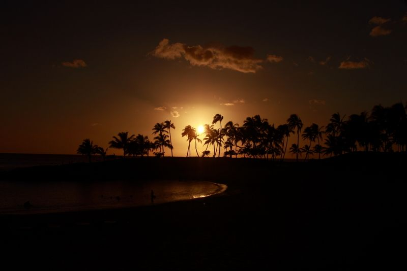 Ihilani at Night, Oahu, Hawaii