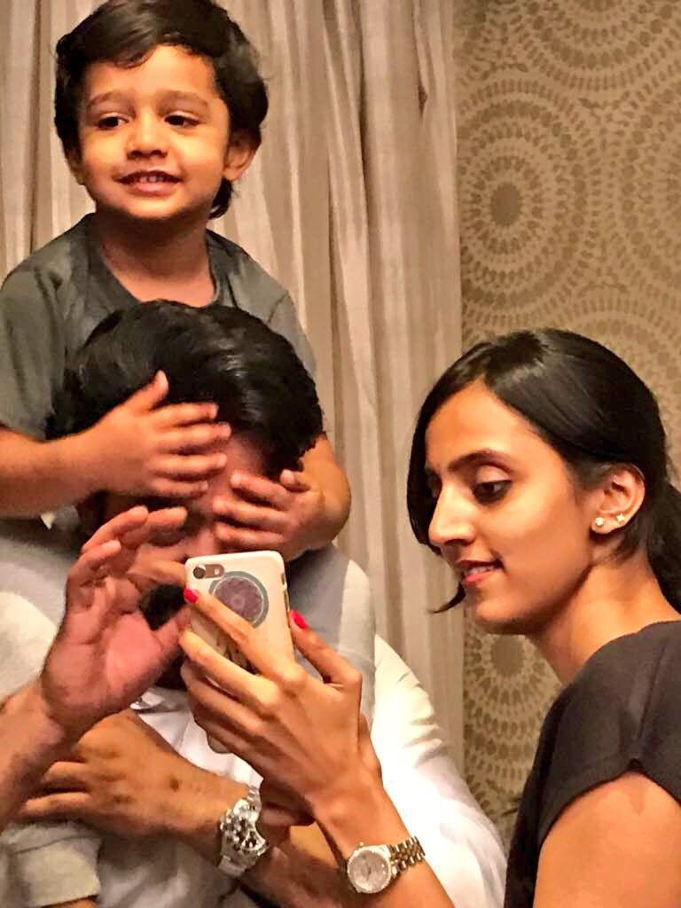 Telugu film industry actor jr ntr family photos