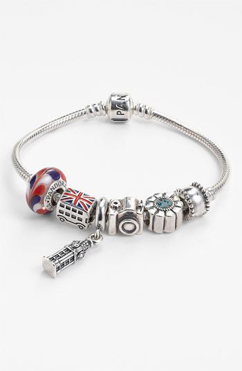 08837d4b5 PANDORA Customizable Charm Bracelet .. this would be the best ...