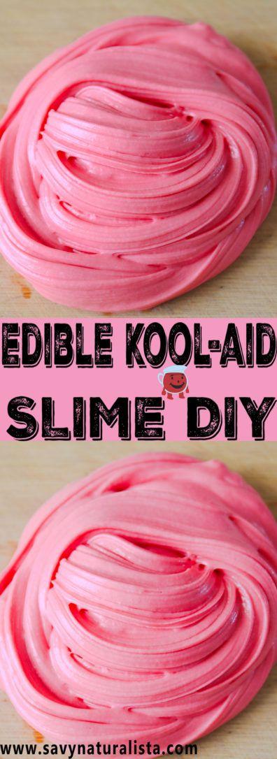 Edible Kool-Aid Slime - Savvy Naturalista