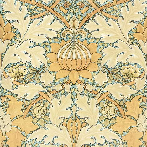William Morris ~ Growing Damask ~ by PeacoquetteDesigns on ...