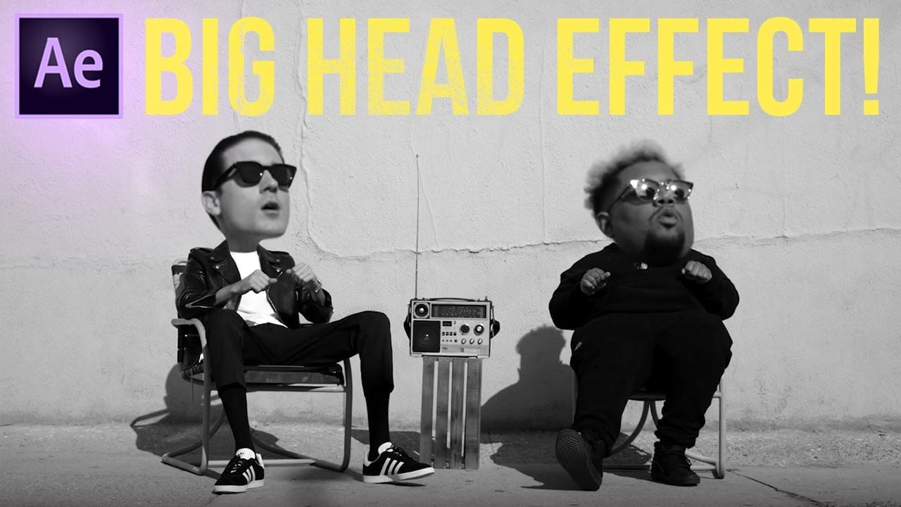 How To Create A Big Head Bobblehead Effect In Adobe After Effects
