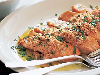 サーモンのソテー シチリア風レシピ 講師は有元 葉子さん 使える料理レシピ集 みんなのきょうの料理 NHKエデュケーショナル