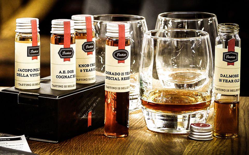 Flaviar spirit sampler liquor subscription boxes irish