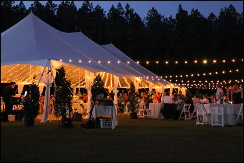 Wedding String Lights For Tents How To Light A Tent With Cafe Much Use And Hang