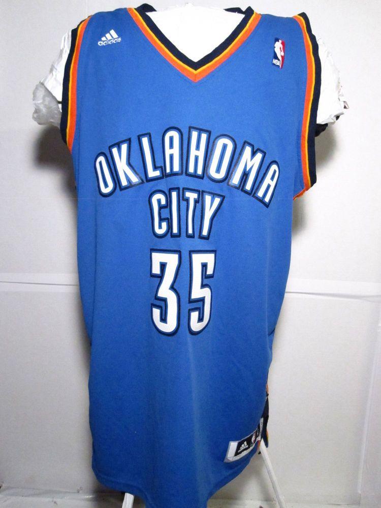 ce5b323f7 Adidas Kevin Durant OKC Basketball Jersey Oklahoma Size XL