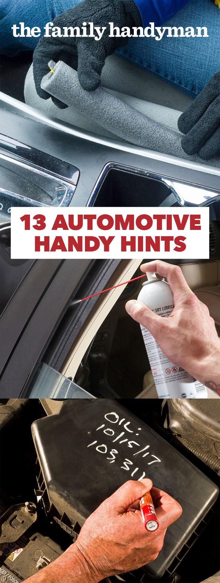 12 Automotive Handy Hints Automotive Car Cleaning