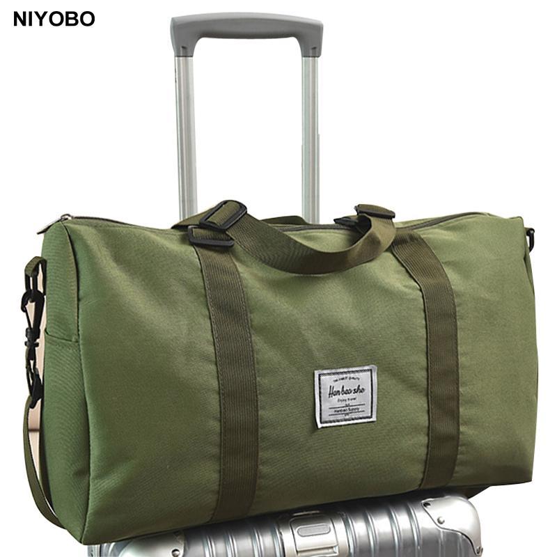6815cd7e4f2d NIYOBO Canvas Duffel Bag