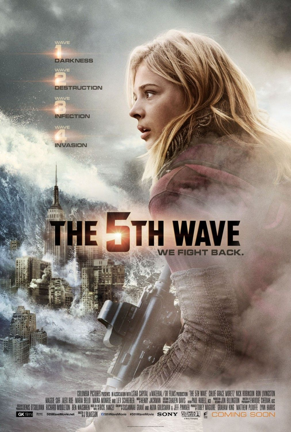 Return To The Main Poster Page For The 5th Wave Capas De Filmes