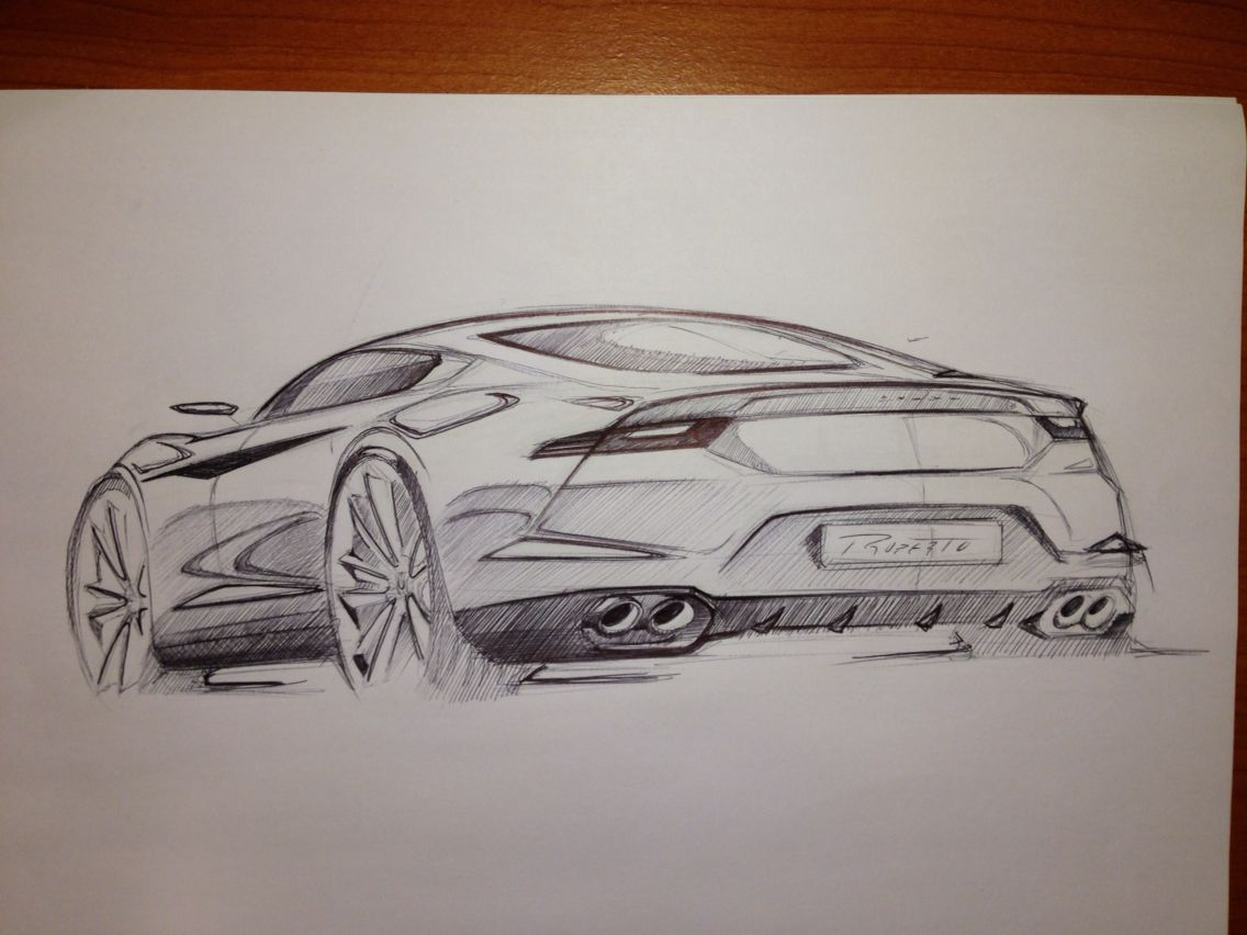 Training Car Concept By P Ruperto