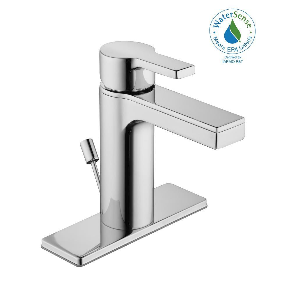 Glacier Bay Modern Contemporary Single Hole Single Handle Low Arc Bathroom Faucet In Matte Black Hd67771w 6010h Bathroom Faucets Modern Bathroom Faucets Faucet